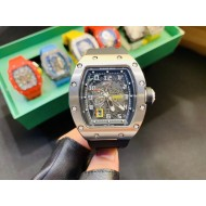 RICHARD MILLE SILVER NEW MODEL RM030