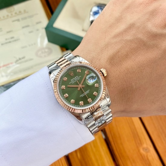 ROLEX  New Datejust 36 RO0048